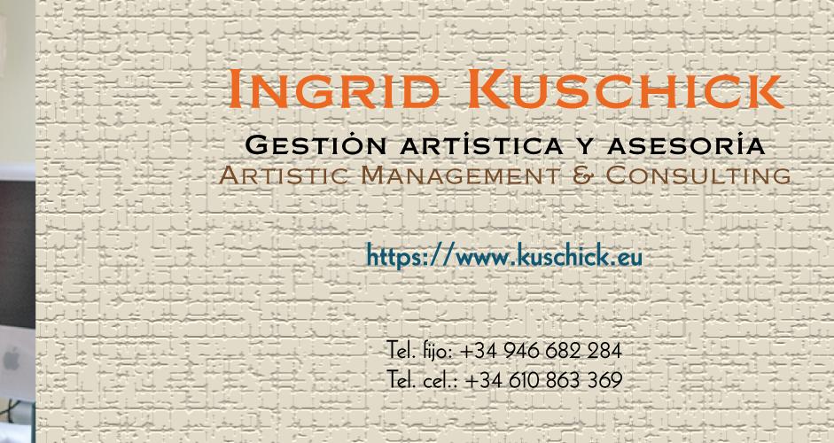 Ingrid Kuschick – Artistic Management